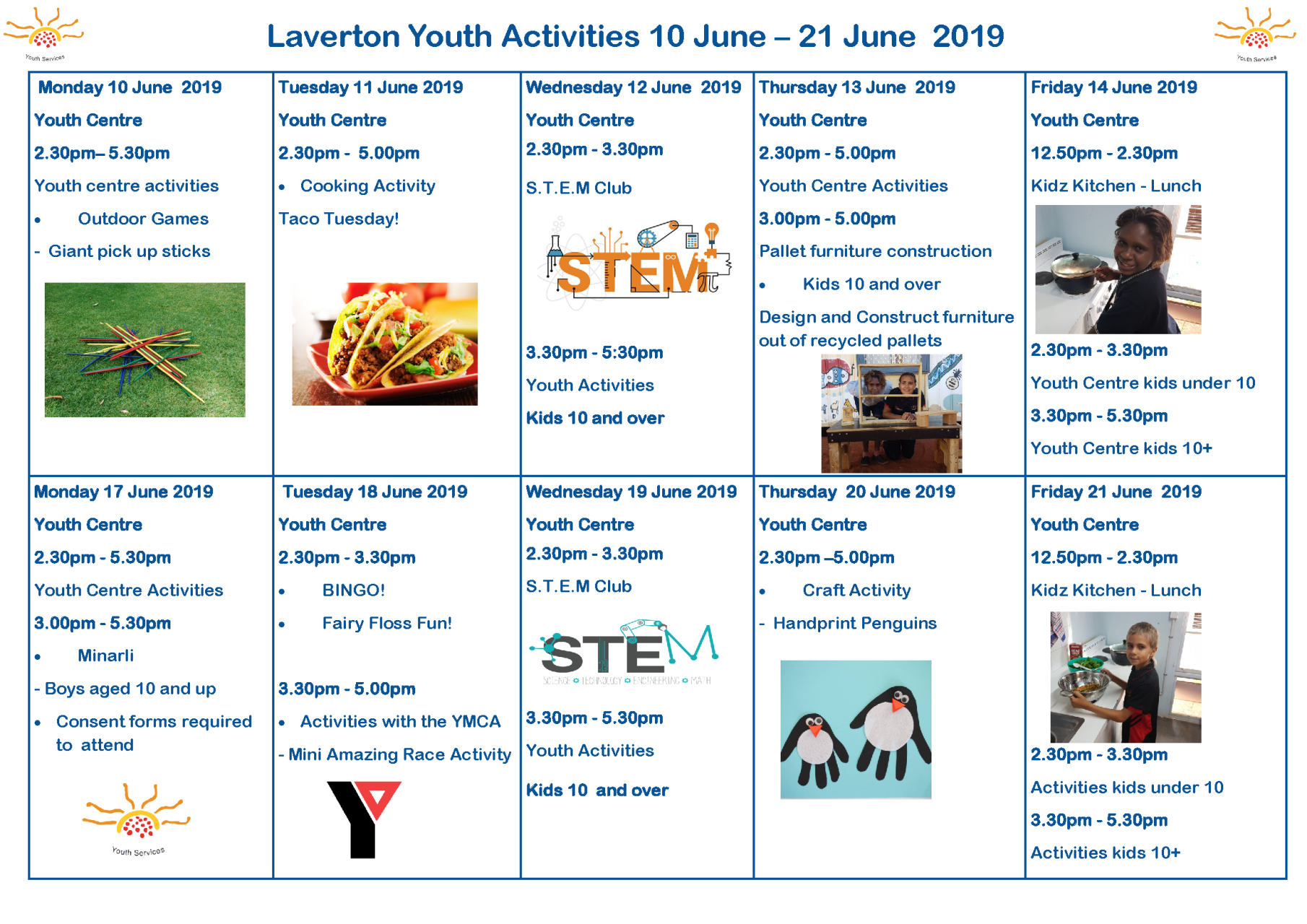 What's On At the Youth Centre?