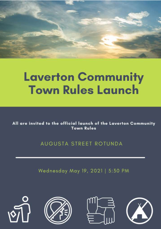 Laverton Community Town Rules Launch