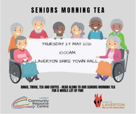 Seniors Morning Tea